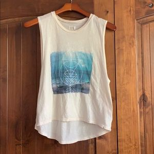 Volcom graphic tank top